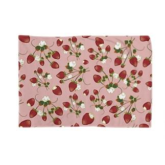 いちごうさピンク Blankets