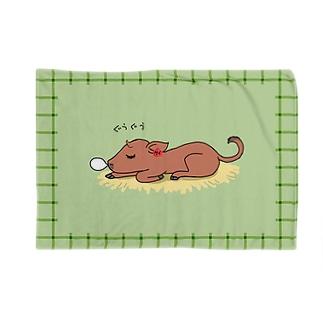 ぐうぐうケイちゃんおひるねブランケット Blankets