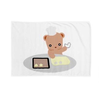 クッキーとクマさん Blankets