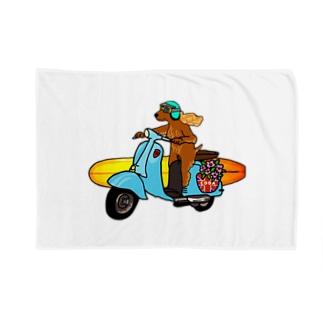 Coda surfdog Blankets