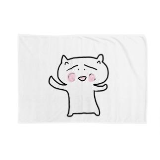 ほんわか猫 Blankets