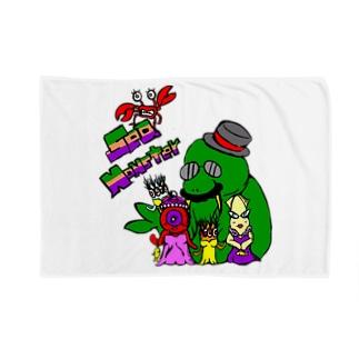 Sea Monster Blankets
