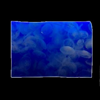 Luckyemeの海月~グラデーション~ブランケット