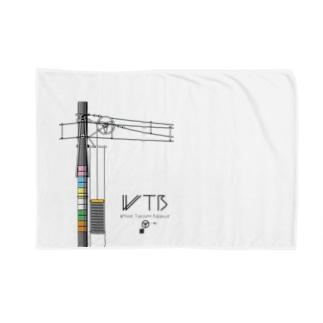 WTBと電柱(高崎エリア) Blankets