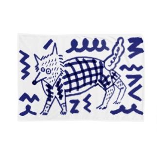狼ちゃん Blankets