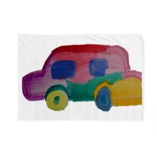 カラフルカー Blankets