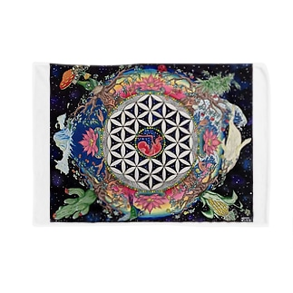 The flower of life. Blankets