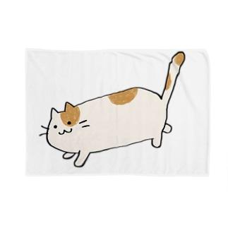 おさんぽねこ Blankets