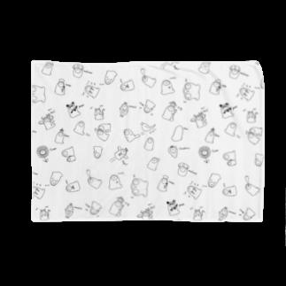 フトンナメクジのフトンナメクジ ランダムモノトーンVer. Blankets