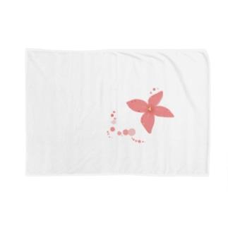 花一輪、水玉とともに Blankets