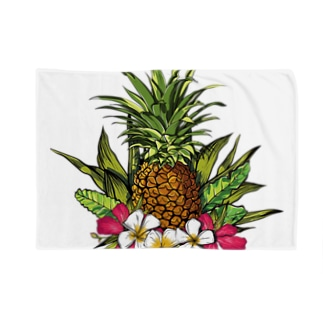 tropical01 Blankets