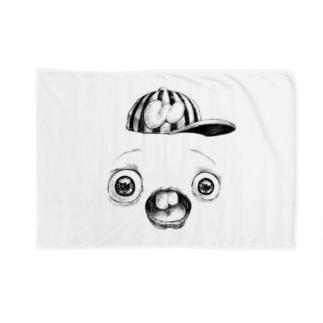 さちおくんの顔の写真 Blankets