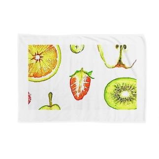 果物はかわいい Blankets