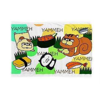 SUZURI×ヤマーフの寿司YAMMEH Blankets
