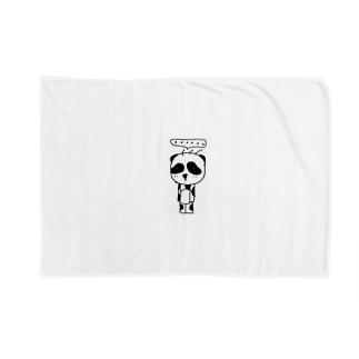 立ち止まりパンダ(ソロ) Blankets