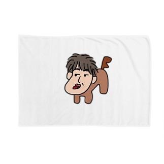 人面犬「たか爺」 Blankets