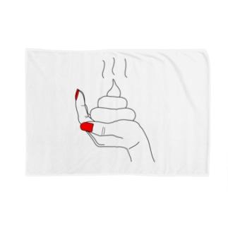 うんこ(手乗り) Blankets