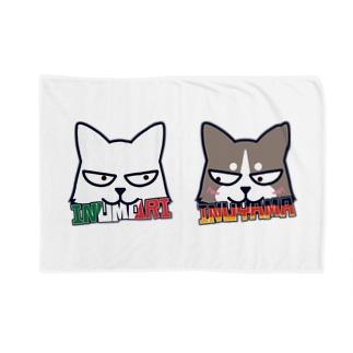 二匹はなかよし Blankets