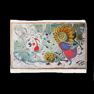太陽drops -立華 圭グッズショップ-の音楽のチカラ ブランケット Blankets