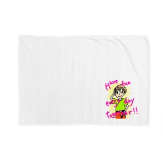 Have fun every day together! Blankets