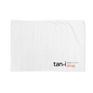 tan-i.shop (透過ロゴシリーズ) ブランケット