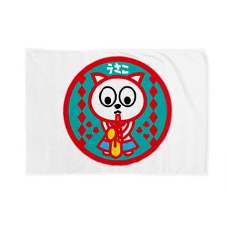 パ紋No.2976 うさこ Blankets