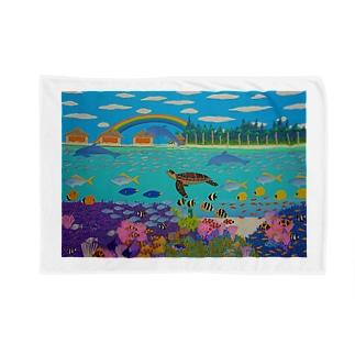 ニューカレドニアのサンゴ礁 Blankets