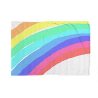 レインボー Blankets