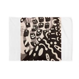 チョコレイト450銃士&Black色の焼き鳥屋🌟🔥🐔🔥🌟 Blankets