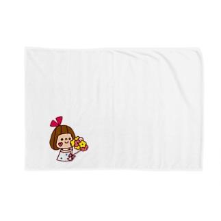 花束リボンちゃん Blankets