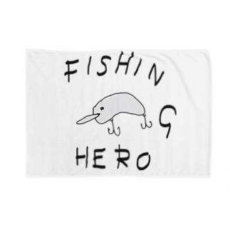 FISHING HERO Blankets