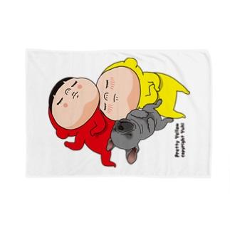 お昼寝するやで Blankets