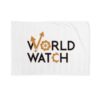 WORLD WATCH ブランケット