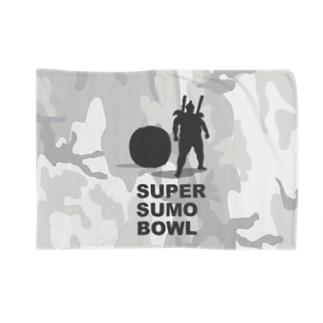 SUPER SUMO BOWLカモ Blankets