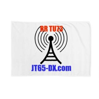 JT65-DX.com 公式グッズ ブランケット
