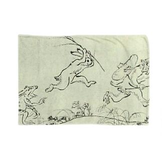 鳥獣人物戯画 Blankets