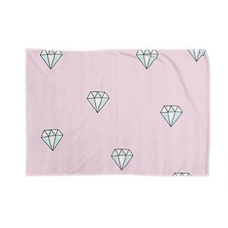 ピンクダイヤモンド Blankets