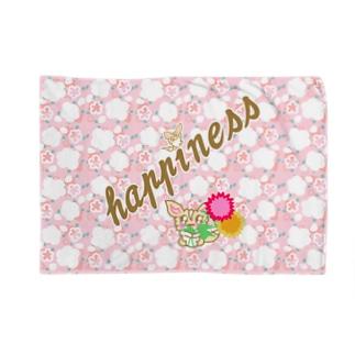 happinessちゃま ブランケット