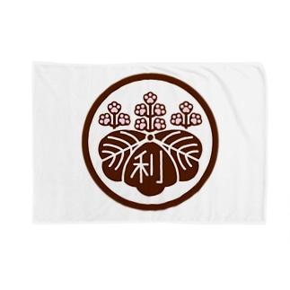 パ紋No.3011 利 Blankets