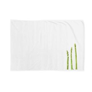 アスパラガス Blankets