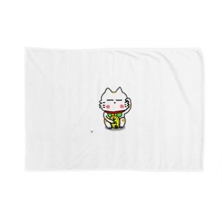 BK あーきちゃん招き猫バージョン ブランケット