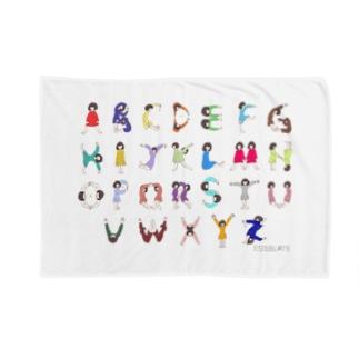 アルファベット Blankets