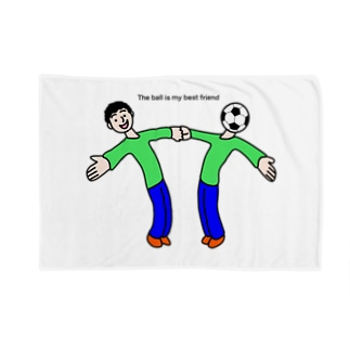 The ball is my best friend ボールは友達 Blankets