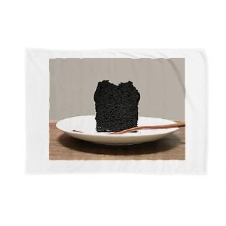 ちょっぴり大人味、ブラックココアのチョコレートケーキ Blankets
