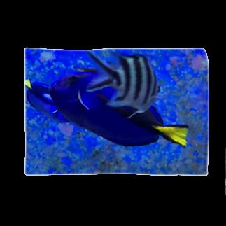 Luckyemeの交差する魚ブランケット