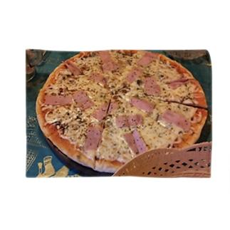 ハッピーピザ ブランケット