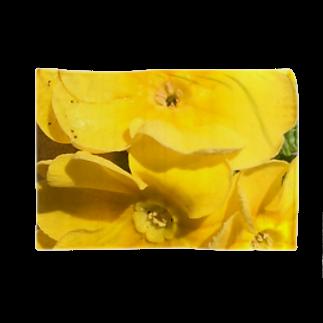 Luckyemeの眩しいくらいの黄色ブランケット