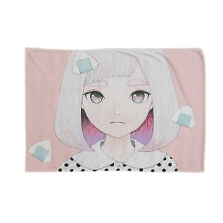 Onigiri Portrait Blankets