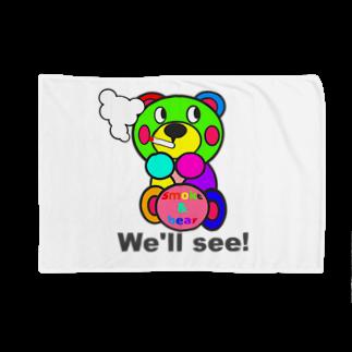 オリジナルデザインTシャツ SMOKIN'の一服モクモックマ  カラフル オリジナルアイテム  Blankets