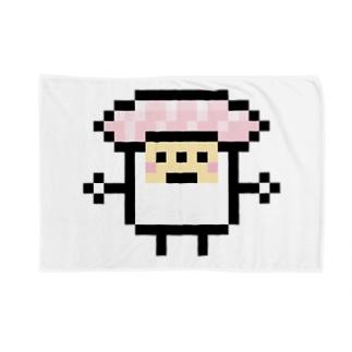 PixelArt スシスッキー ビントロ ブランケット